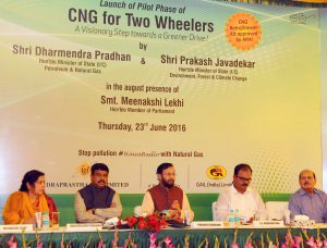 Natural Gas For  Wheelers